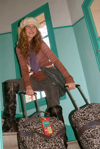 USF style guru Addysen Trumper travels in high fashion on her adventures studying in Paris.  Photo by Addysen Trumper/Foghorn