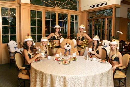 brah blog: saintsations teddy bear tea