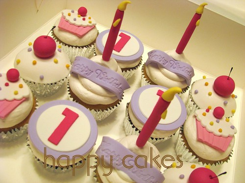 cakes for girls 1st birthday. 1st Birthday Cupcakes