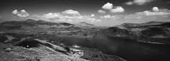 Array (Joe Dunckley) Tags: uk england bw mountains monochrome clouds landscape lakes lakedistrict cumbria derwentwater catbells skiddaw 123bw 123l