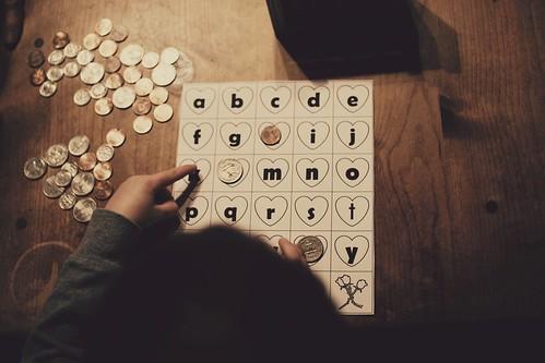 bingo caller.