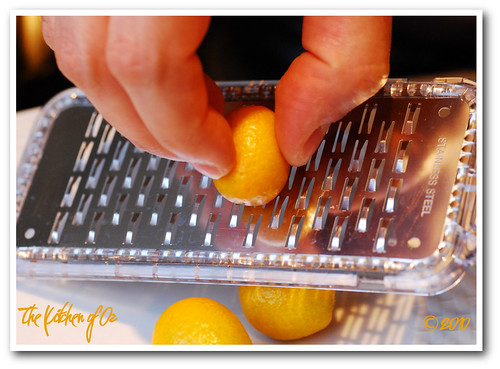Grating Kumquats