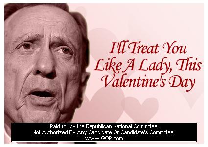 Left Coast Rebel You Betcha GOP Valentines Day Cards Show Some – Gop Valentines Day Cards