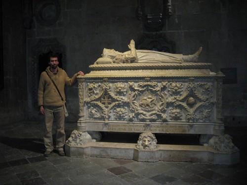 Túmulo de Vasco de Gama, Mosteiros dos Jerónimos, Portugal