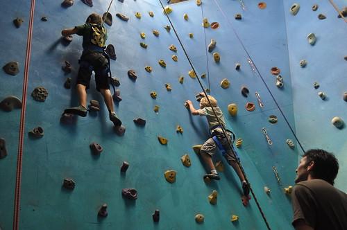 rock climbing party 041