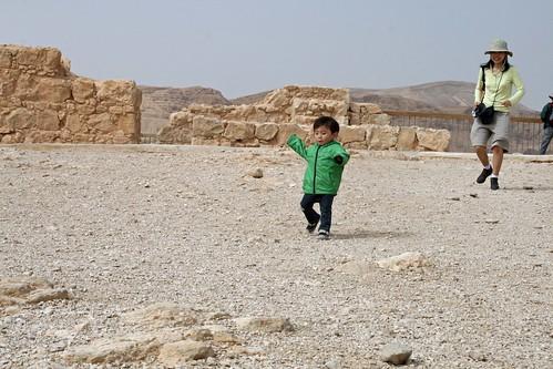 A wandering Aramean (?) at Masada
