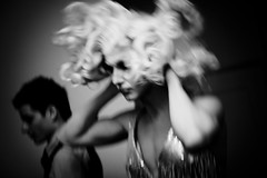 Amelia (Lil [Kristen Elsby]) Tags: bw motion blur drag dress sydney makeup australia event wig nsw amelia dragqueen backstage topv4444 transform divas reportage australasia oceania documentaryphotography paddingtontownhall ameliaairhead divaawards divas2008 divaawards2008
