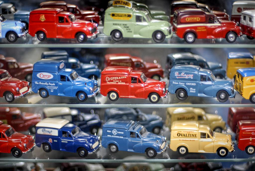 UK - Long Hanborough - Oxford Bus Museum - Toy cars