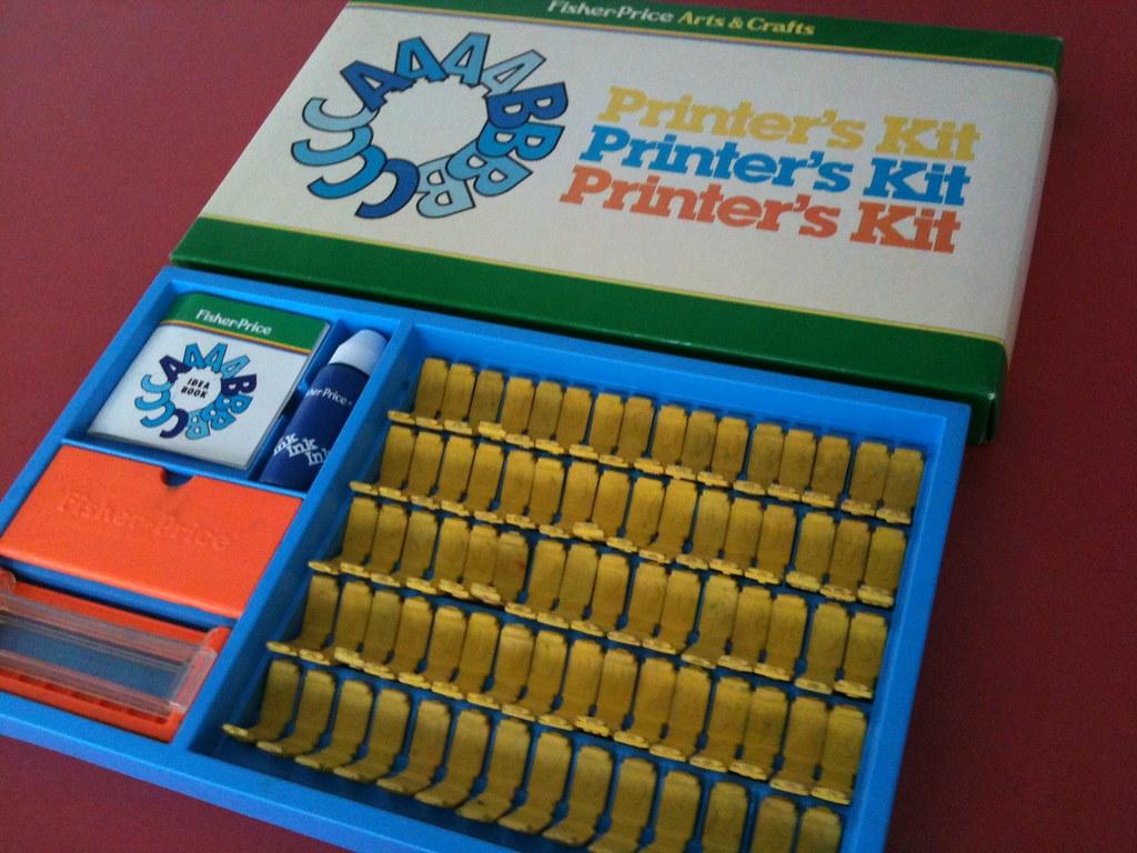 Fisher-Price Printer's Kit