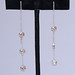 DEBORAH SHEPARD TRIPLE DROP STERLING EARRINGS