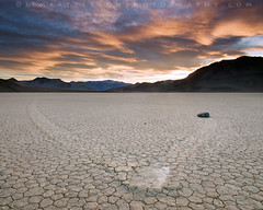 Lasting Impressions - Death Valley National Park, California (Jim Patterson Photography) Tags: california travel blue light sunset usa nature clouds landscape gold golden rocks colorful desert natural time wideangle polarizer cracked gitzo racetrackplaya phenomenon reallyrightstuff deathvalleynationalpark remoterelease nikkor1224mm singhray goldnblue nikond300 markinsm20ballhead jimpattersonphotography jimpattersonphotographycom seatosummitworkshops seatosummitworkshopscom