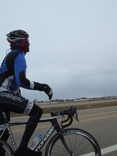 Bahati Team ride in Ft Collins