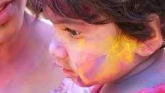 A festival of colours