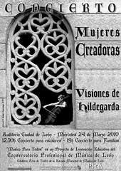 VISIONES DE HILDEGARDA - MUJERES CREADORAS - 24.03.10