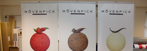 Movenpick Ice Cream - Roller Banners 800mmx2000mm