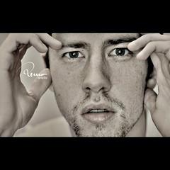 (remography) Tags: portrait face mouth nose 50mm photo eyes hands nikon gesicht foto hand sb600 crop utata augen nikkor nase mund hnde ausschnitt d700 ~color ~farbe