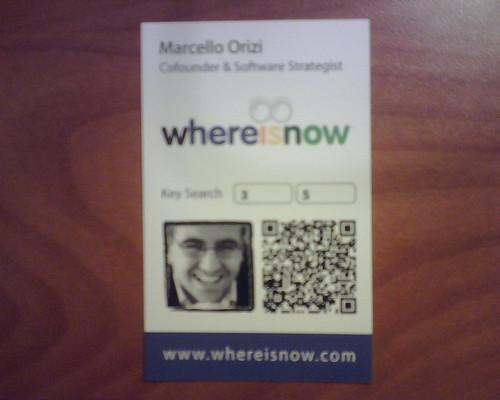 Biglietto da visita di Marcello