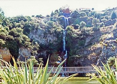 Napier, New Zealand, Centennial Garden, Waterfall