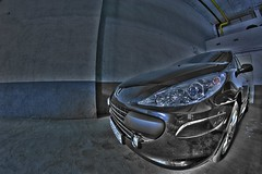 (Varo|Centroklub) Tags: cars canon eos angle wide fisheye falcon 8mm hdr peugeot coches 307 exposures bracketing photomatix tonemapping ultraangular 1000d tripoded
