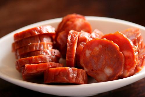 Ullas spicy sausage