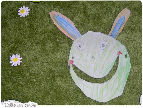 Máscara de Conejito de Pascua