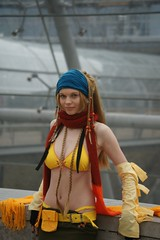 Rikku from Final Fantasy X-2 (cosplay shooter) Tags: anime comics costume comic cosplay manga leipzig yuki final fantasy convention cosplayer finalfantasy rollenspiel rikku roleplay lbm x2 leipzigerbuchmesse 1000z 1500z x201306