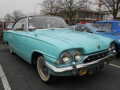 FORD Consul Capri Coupé (xavnco2) Tags: blue cars ford capri turquoise champagne bleu common reims classiccars coupé consul marne