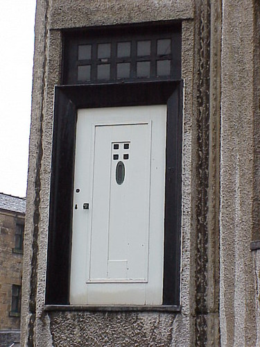 Front Door, Mackintosh House