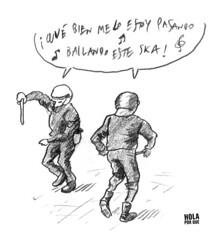 Polis punkis (Hola Por Qué) Tags: dibujo lápiz dibujitosconlapuntadelamano