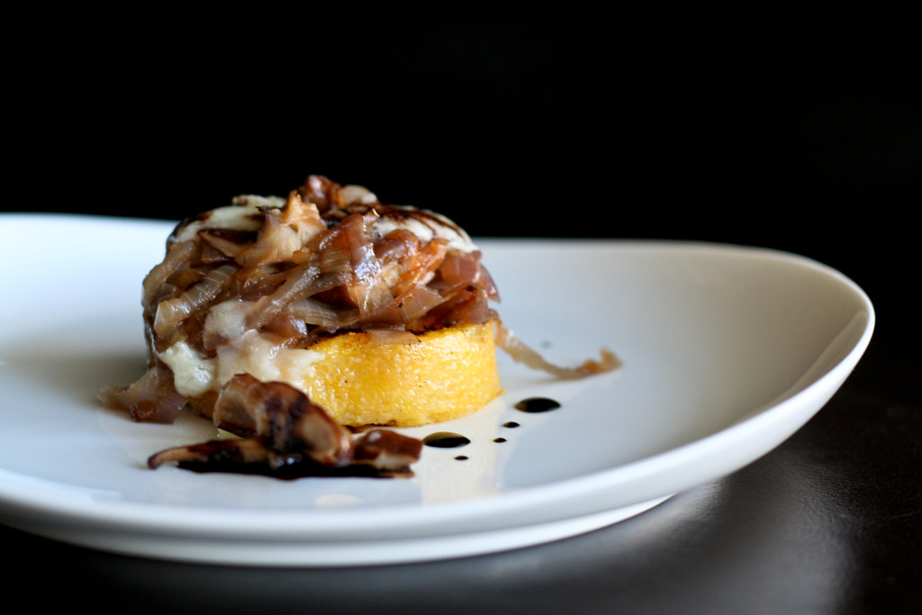 Grilled Polenta with Shiitakes, <a href=