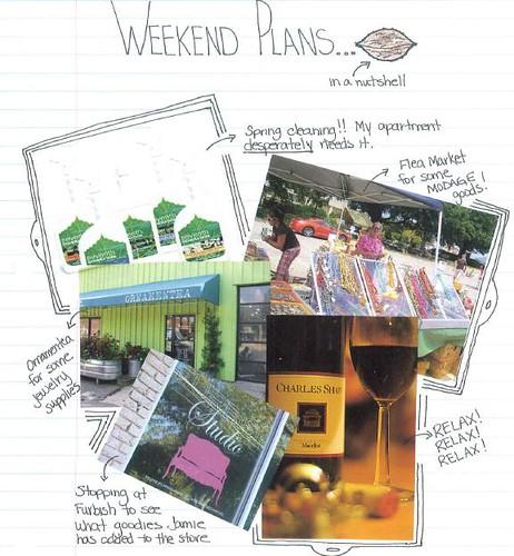 weekend plans 4.8.10