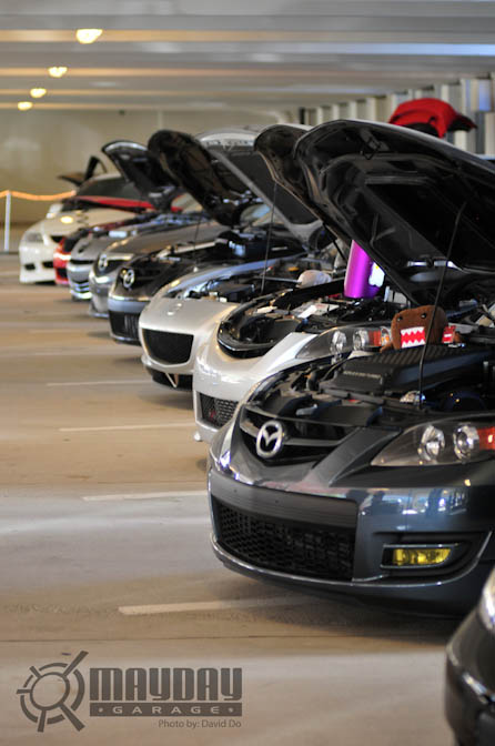 ProjectM, a Mazda group, came out hard, and in large numbers.