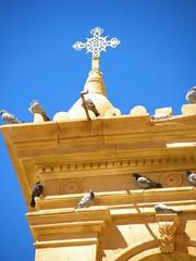 St. Katherine's Monastery (cmphotoroll) Tags: cross egypt mtsinai sinaipeninsula stkatherinesmonastery 5photosaday worldwidewandering nikonp90