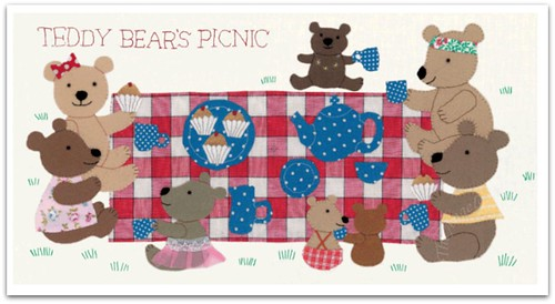 Teddy Bear Picnic - inside the book
