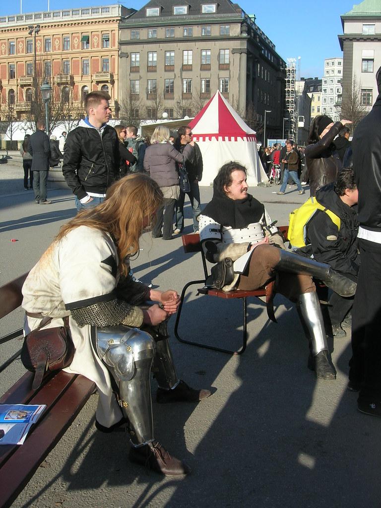 Medieval market in Stockholm, 2010 Apr - 3