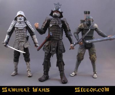 Samurai Wars by Sillof