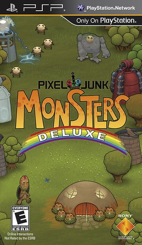 PixelJunk Monsters Deluxe (PSP)
