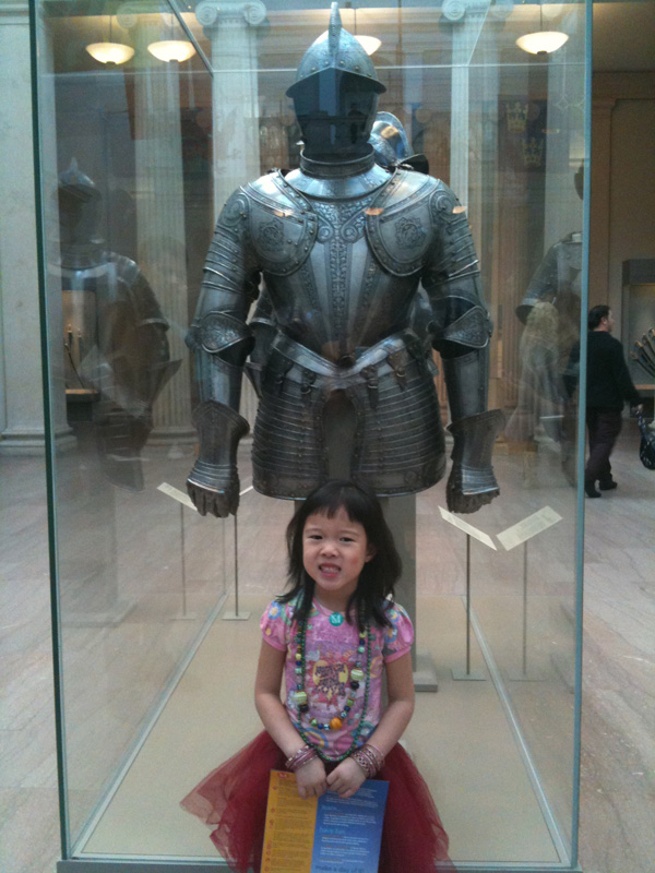 Jassy at the MET Museum