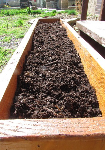 Filled with Compost