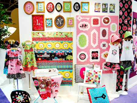 Violet Craft's booth