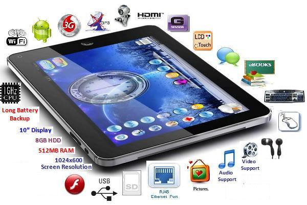 Tablet 8GB