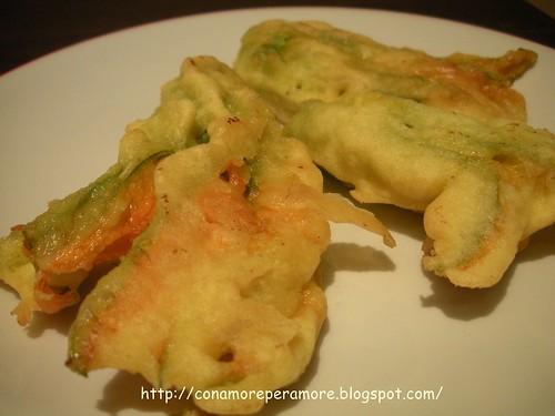 fiori di zucchina in pastella1
