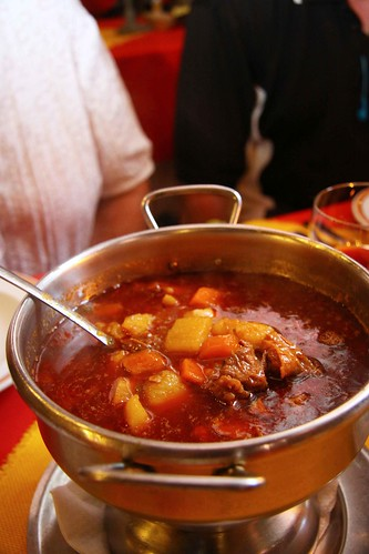 Goulash soup