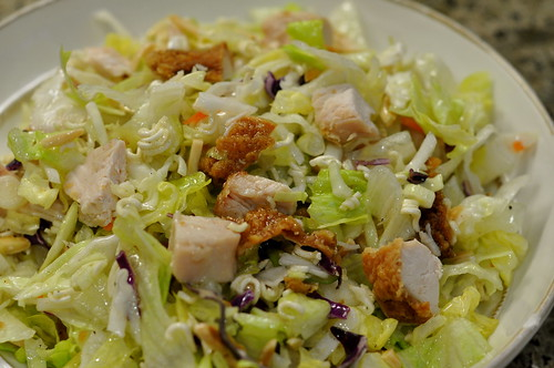 Chinese chix salad