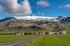 Farm Thorvaldseyri, Eyjafjallajökull (AnBind) Tags: island 2016 fotoreise ereignisse urlaub thorvaldseyri eyjafjallajökull farm südisland eyjafjöllgletscher gletscher