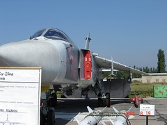 """Sukhoi Su-24М Fencer 2 • <a style=""""font-size:0.8em;"""" href=""""http://www.flickr.com/photos/81723459@N04/32792378422/"""" target=""""_blank"""">View on Flickr</a>"""