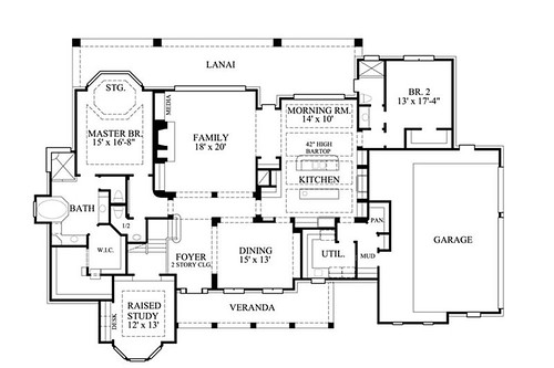 Quaint Cottage House Plans for a Secondary Residence - The House