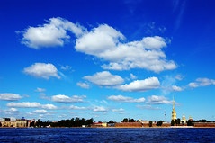 Sky of St. Petersburg