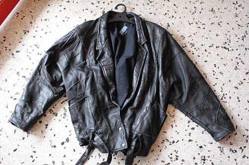amazing leather jacket $15
