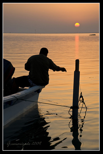 Sunset Fishing at Hamala